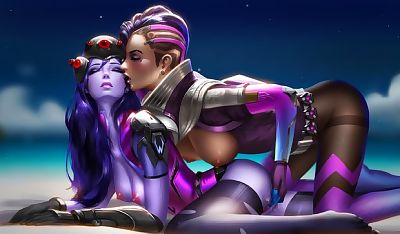 Sombra vs Widowmaker-